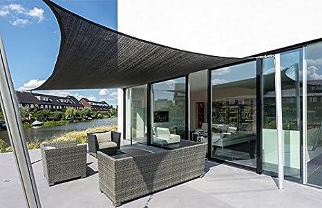 Tende Per Esterni Resistenti Al Vento.Sunny Inch Tenda Da Sole Quadrata Resistente Al Vento Ad Alta