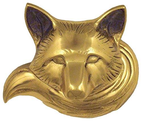 Michael Healy Designs MHR75 Fox Doorbell Ringer - Brass,