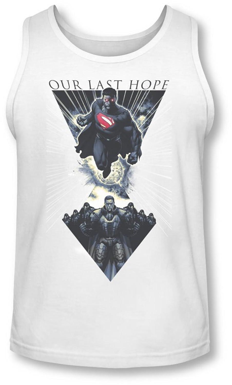 Man Of Steel - Mens Our Last Hope Tank-Top
