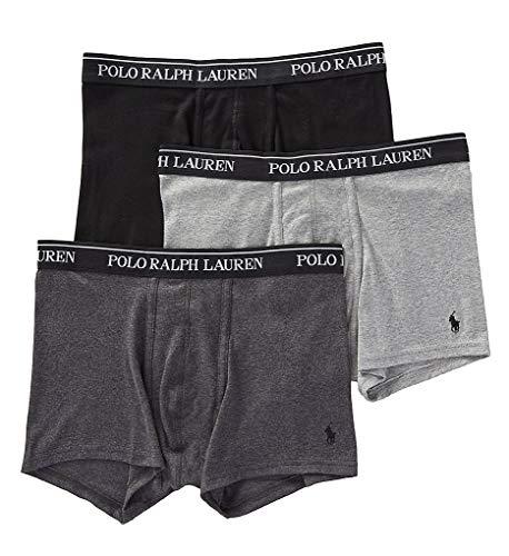 Polo Ralph Lauren Classic Fit 100% Cotton Trunks - 3 Pack (RCTRP3) M/Andover/Madison/Blk