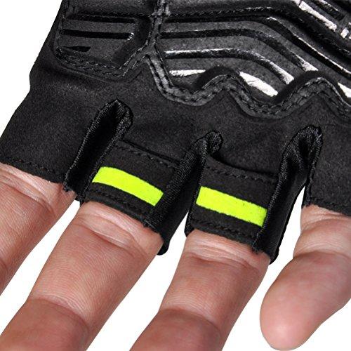 FIRELION-Cycling-Gloves-Mountain-Bike-Gloves-Road-MTB-Bicycle-Gloves-Gel-Pad-Riding-Gloves-Half-Finger-Biking-Gloves