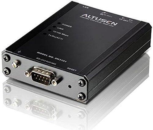 ATEN SN3101 1-Port Serial Device Server (Black)