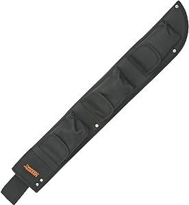 Marble Knives 12718S Machete Belt Sheath with Heavy Black Nylon Construction