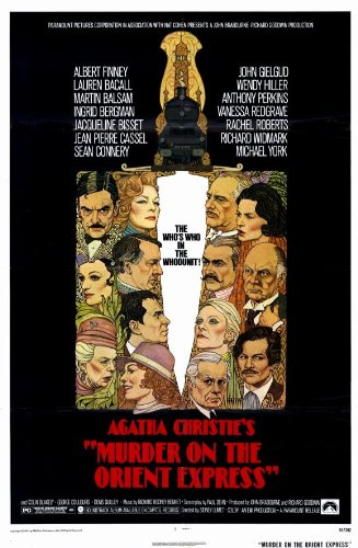 movie posters murder on the orient express