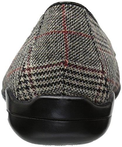 Zachte Stijl Hush Puppies Dames Daly Loafer Black Plaid / Patent
