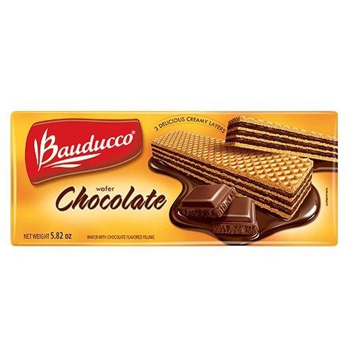 Bauducco Chocolate Wafers, 5.82-Ounce Sleeve (3 Pack) (Brazilian Cookies)