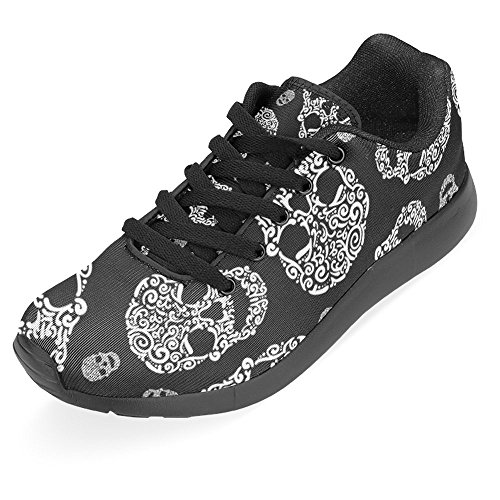 InterestPrint Womens Jogging Running Sneaker Lightweight Go Easy Walking Casual Comfort Sports Running Shoes Multi 18 dmPCm