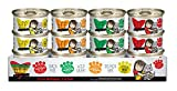 Weruva Best Feline Friend (B.F.F.) Can Variety Pack! Cat Food by 3.0oz Can (Pack of 12)