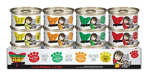 Best Feline Friend (B.F.F.) Grain-Free Wet Cat Food Cans & Pouches by Weruva