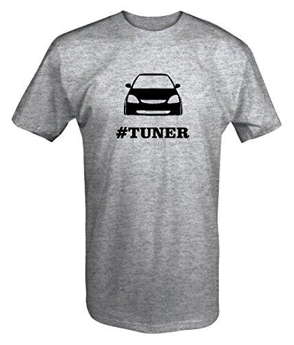 - Honda Civic Si Racing Lowered #TUNER T shirt - Large