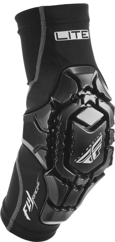 Fly Racing Black Sz M Fly Racing Barricade Lite Elbow Guards
