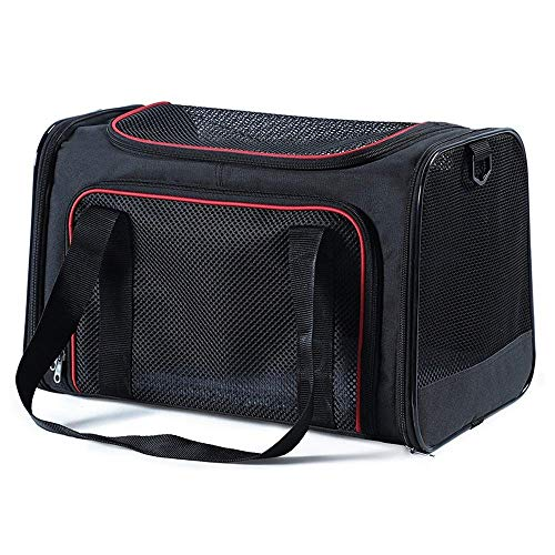 C-Xka Airline Approved Pet Carriers,Soft Sided Collapsible Pet Travel Carrier for Medium Puppy and Cats (Color : C, Size : Medium)