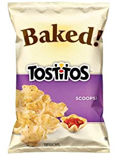 Baked! Tostitos Scoops! Tortilla Chips, 6.25oz Bags (7 ...
