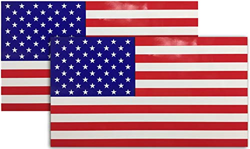 Mind Your Magnets American Flag Magnet - A Patriotic Magnet for Cars/Trucks/RVs and More (2)