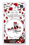 Disney Minnie Mouse Circular Contact Lens Case, for Soft Contact Lenses