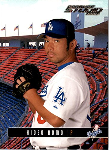 2003 Donruss Studio #135 Hideo Nomo NM-MT Dodgers ()
