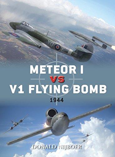 Meteor I vs V1 Flying Bomb: 1944 (Duel)