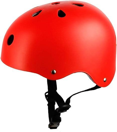 MC.PIG Casco de Bicicleta para niños: Casco de Skate Ajustable ...