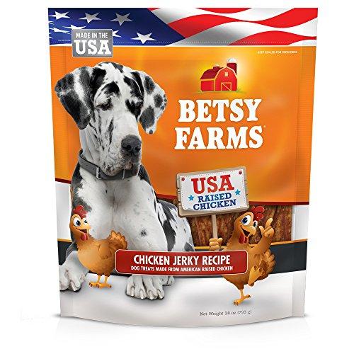 Betsy Farms Natural Chicken Jerky Dog Treats