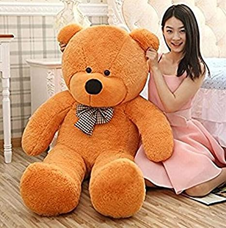 355e15ce90e Buy AVS 3 Feet Stuffed Spongy Huggable Cute Teddy Bear Brown 91 cm Online  at Low Prices in India - Amazon.in
