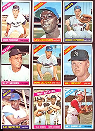 Amazoncom 0 Topps Starter Sets Baseball Card19 50 1966
