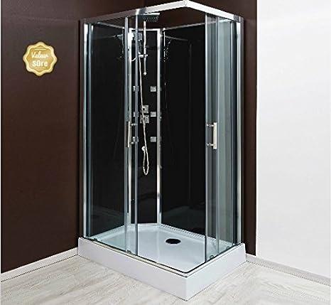Aqua + – Cabina de ducha (acceso de ángulo Puerta Corredera ...