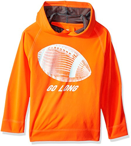 Construction Zone Clothes (The Children's Place Big Boys' Graphic Sport Hoodie, Construction Zone, L (10/12))