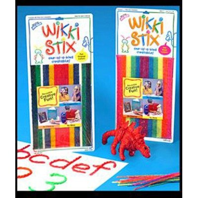 SCBWKX804-7 - WIKKI STIX NEON COLORS pack of 7 by Shoplet Best