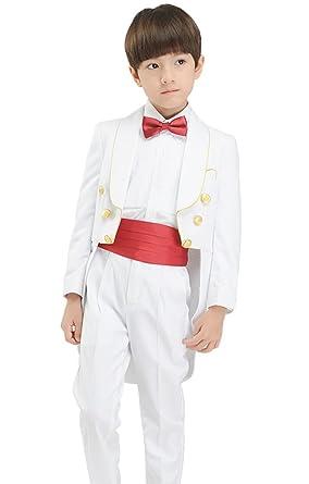 SK Studio - Traje - para niño blanco blanco X-Large: Amazon ...