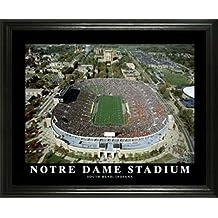 Notre Dame Fighting Irish - Notre Dame Stadium Aerial - Lg - Framed Poster Print