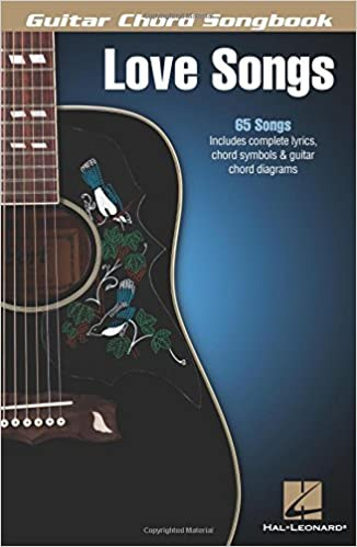 Amazon.com: Love Songs - Guitar Chord Songbook (Guitar Chord ...
