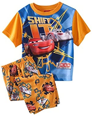 Baby-boys Shift It Cars Short Sleeve Pajamas (2 Piece)