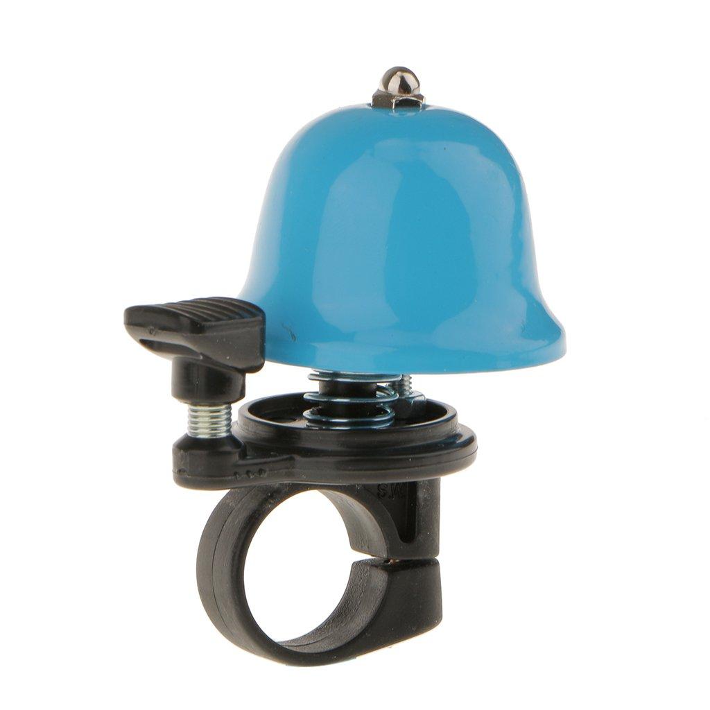 Ring Bell Shapedバイク自転車ハンドル警告ベル  ブルー B01KHKHBEK