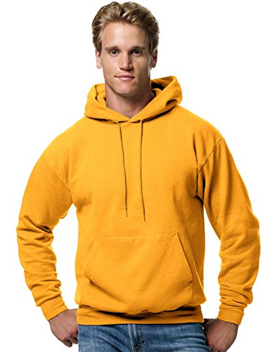 EcoSmart Fleece Hooded Sweatshirt, Gold, Small ()