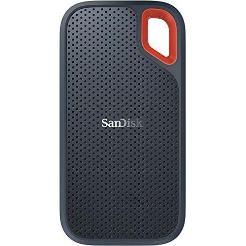 chollos oferta descuentos barato SanDisk Extreme SSD portátil 1TB hasta 550MB s Velocidad de Lectura