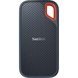 SanDisk 1TB Extreme Portable External SSD – Up to 550MB/s – USB-C, USB 3.1 – SDSSDE60-1T00-G25