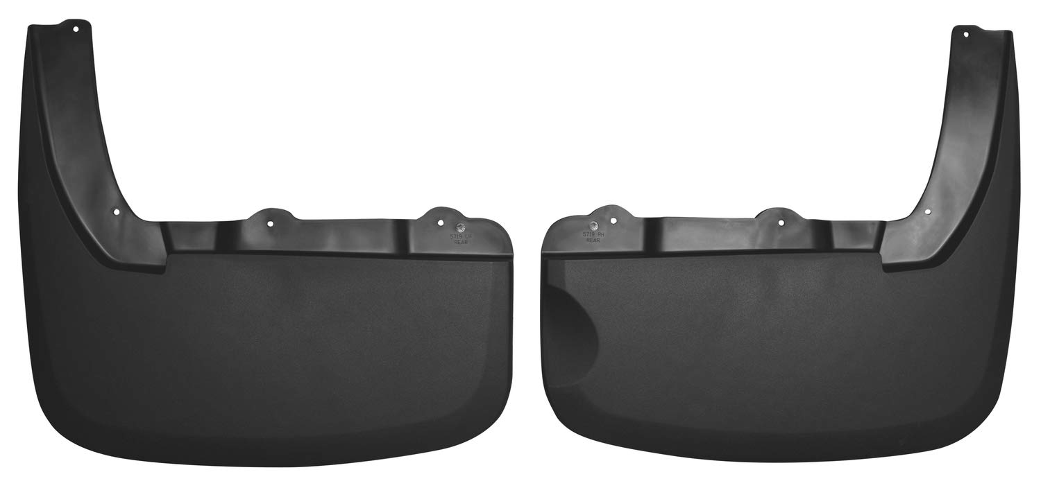 Husky Liners 58186 Black Combo Custom Front and Rear Mud Guard Set 4 Pack