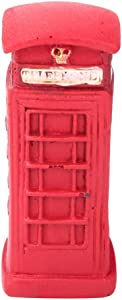 HEEPDD Telephone Booth Desk Decoration, Creative British Retro Telephone Booth Post Box Decoration Table Resin Home Office Living Room Desk Decoration(Telephone Booth)