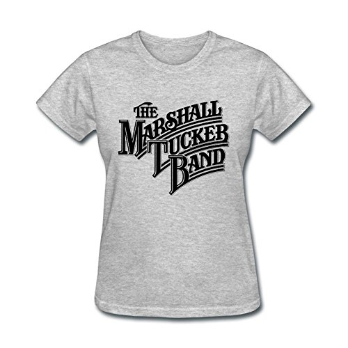 XIULUAN Women's The Marshall Tucker Band Logo T-shirt Size M ColorName (Tucker Marshall Band Shirt)