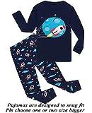 Little Boys Pajamas Space 100% Cotton Long Sleeve Pjs Toddler Clothes Kids Sleepwear 6T