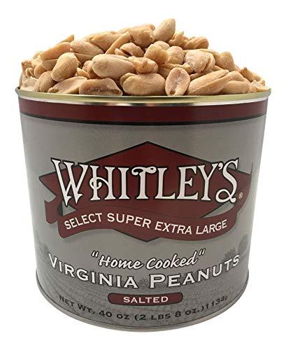 Premium Peanut - Whitleys Salted Virginia Peanuts 40 Oz.