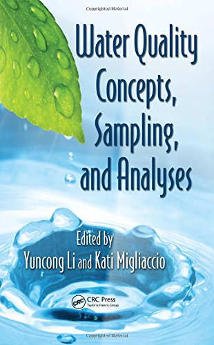 Water Quality Concepts  Sampling  And Analyses