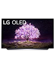 "LG OLED55C1PUB Alexa Built-in C1 Series 55"" 4K Smart OLED TV (2021)"