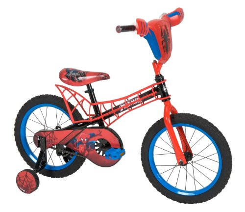 Huffy Bicycle Company Ultimate Spiderman Bike, 16-Inch Top Offers