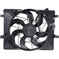 MAPM Premium GENESIS COUPE 13-14 RADIATOR FAN ASSEMBLY, Single Fan, 2.0L Eng.