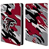Official NFL Camou Atlanta Falcons Logo Leather Book Wallet Case Cover For Apple iPad mini 1 / 2 / 3