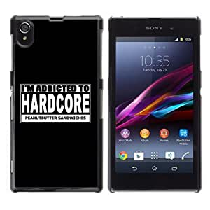 YOYOSHOP [Hardcore Sign] Sony Xperia Z1 L39h Case