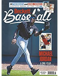 NEWEST GUIDE: Beckett Baseball Card Monthly Price Guide (May 15, 2020 release/M. Jordan cover)***Pricing starts at 1980***