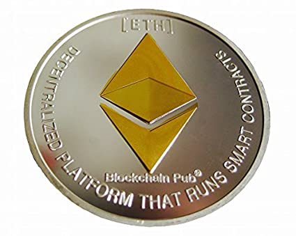antifiction Cryptocurrencies You Hold Physical Ether Eth Board Game Token  Poker Chips Challenge Art Deluxe Round Medallion Novelty with Plastic