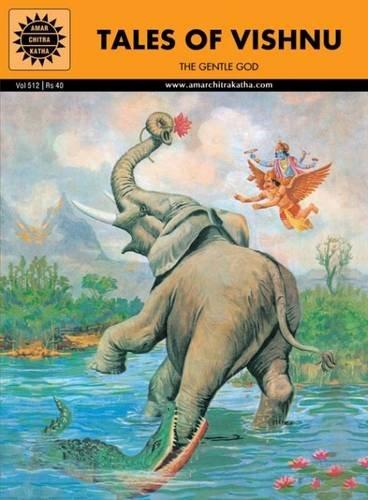 Tales of Vishnu: The Gentle God (Amar Chitra Katha) Indian Comic Book (Epics and Mythology)